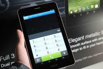 Chega ao Brasil o tablet Fonepad da Asus