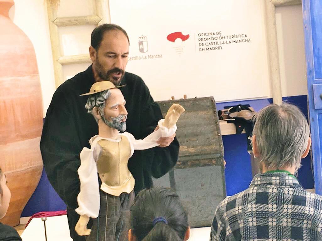 Espectáculo El Quijote en la Calle. La Máquina Real.