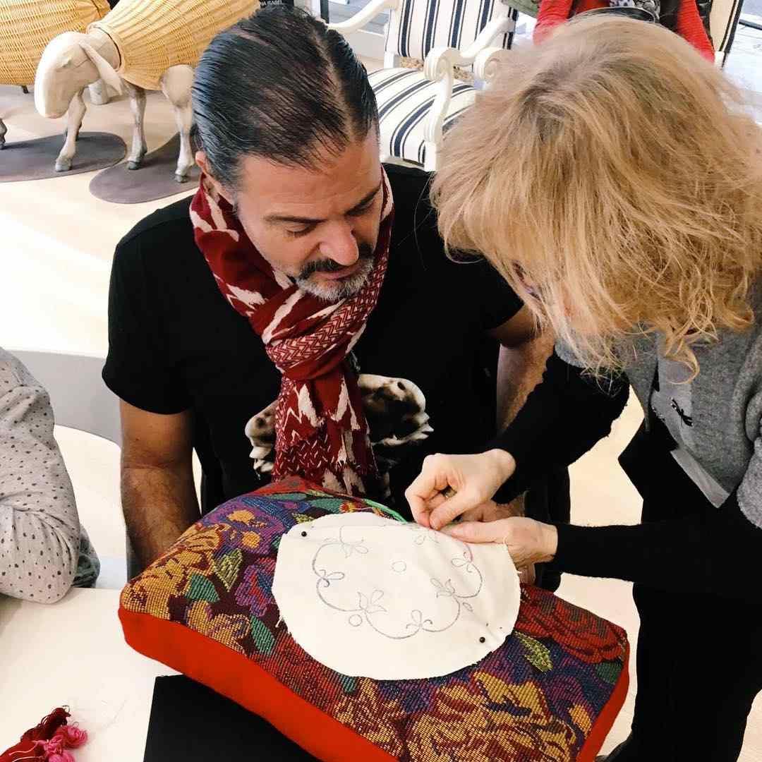 Taller de bordado con Rocío Lozano