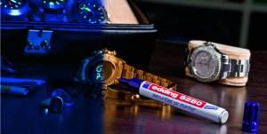 Marcador edding ultravioleta