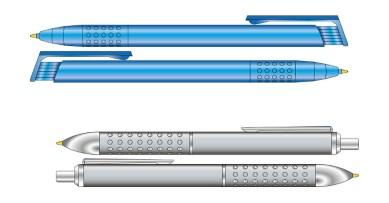 Bolígrafos con pulsador