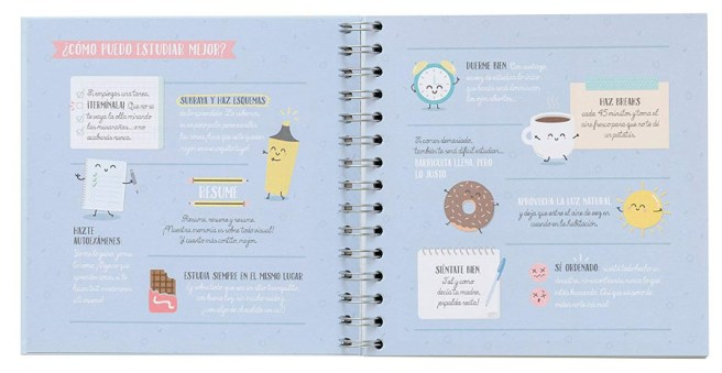 Cuaderno planificador Mr. Wonderful