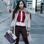 How to Layer for Winter: Pink & Purple Hues