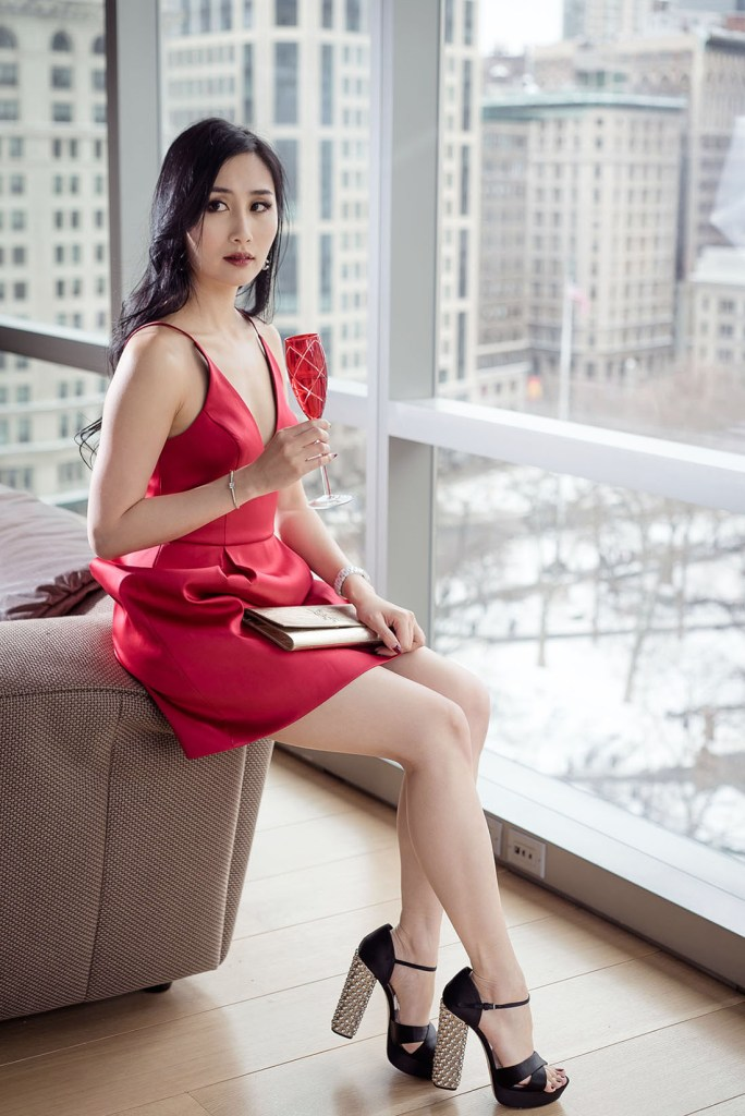 Of Leather and Lace Blog One Madison The Red Dress Effect