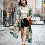 How to Style a Silk Robe for Spring