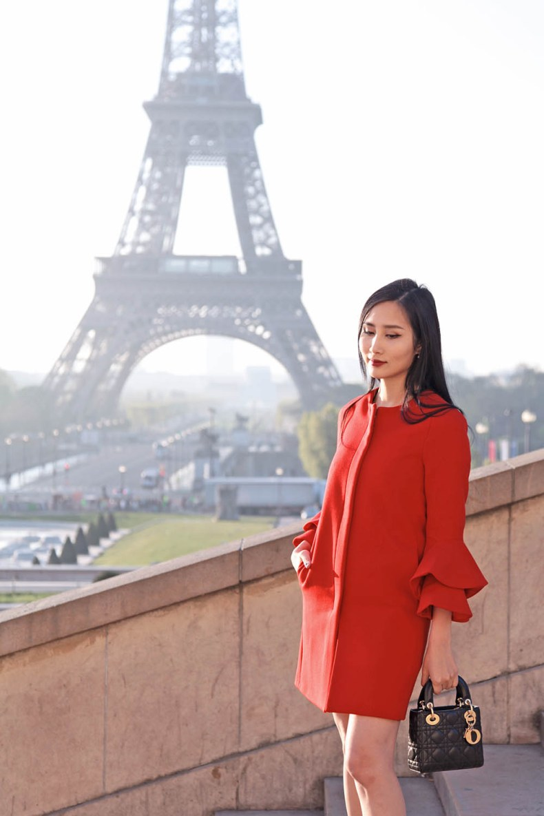 The Best Time and Spot to Take Photos with Eiffel Tower | Of Leather and Lace | A Fashion Blog by Tina Lee