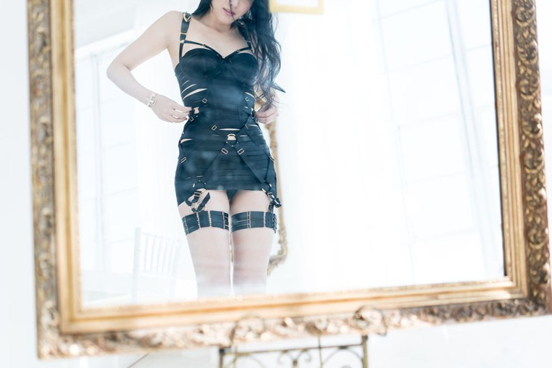 Brand Crush: Bordelle - Bondage Meets Luxury Lingerie | Of Leather and Lace by Tina Lee