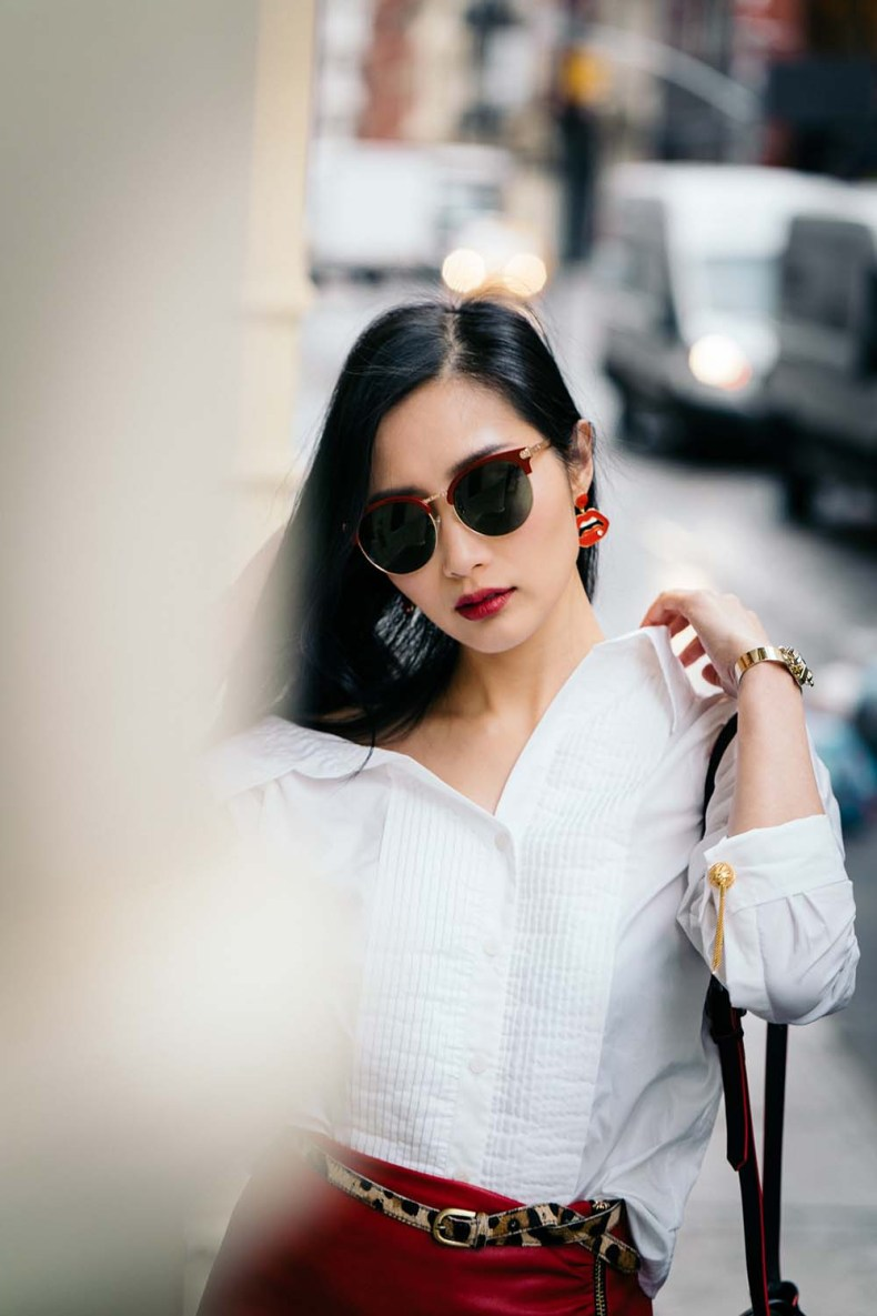Off The Shoulder Shirts for Spring | Of Leather and Lace - A Fashion Blog by Tina Lee