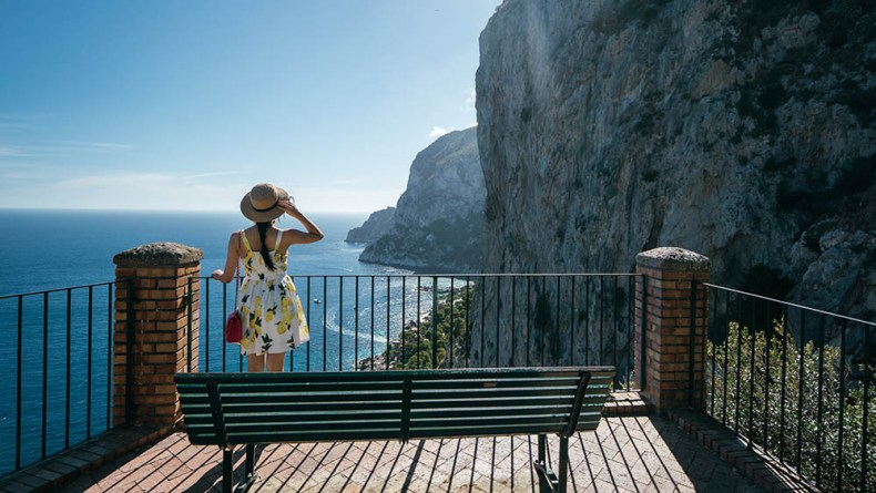 Tina Travels: The Most Scenic Views in Capri - Gardens of Augustus | Of Leather and Lace
