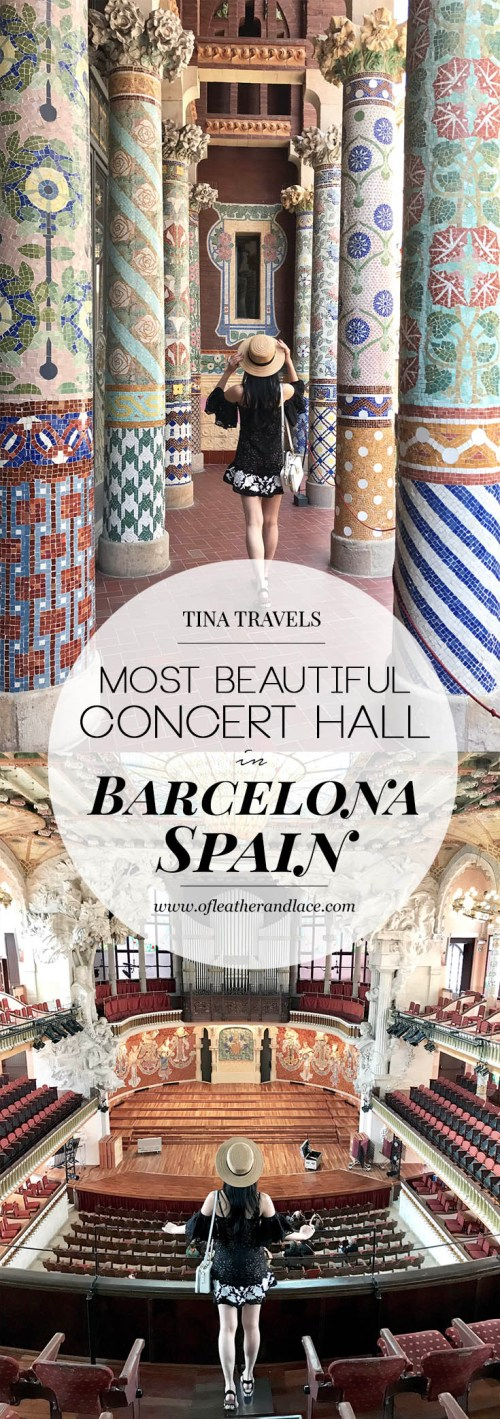 Palau de la Musica Catalana (A Guide) - The Most Beautiful Concert Hall in Barcelona, Spain | Of Leather and Lace