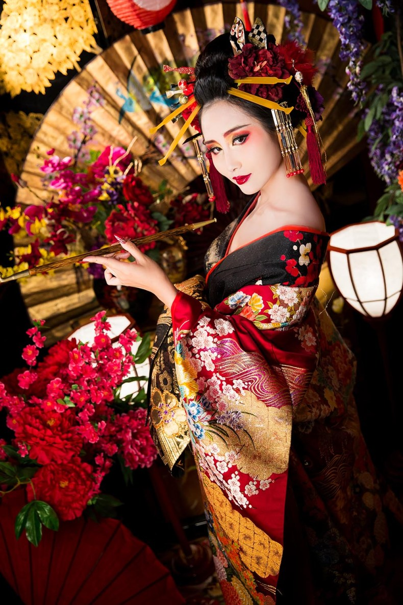 Tina Travels Oiran Makeover Unique Travel Experiences
