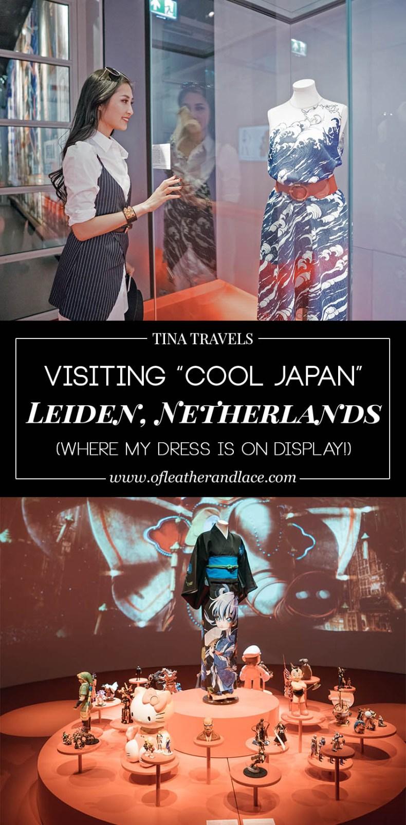 seeing my dress on display at museum volkenkunde cool japan