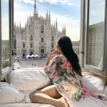 Tina Travels: Best Hotel Room View in Milan, Italy