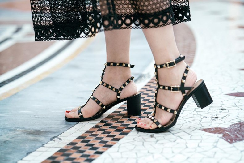 Valentino Rockstud Sandals | Of Leather and Lace