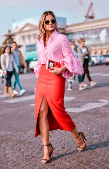 How to Style Red and Pink Outfits | Of Leather and Lace
