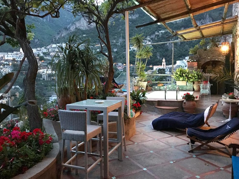 Tina Travels: Villa Fiorentino Positano - The Best Hotel With a Pool