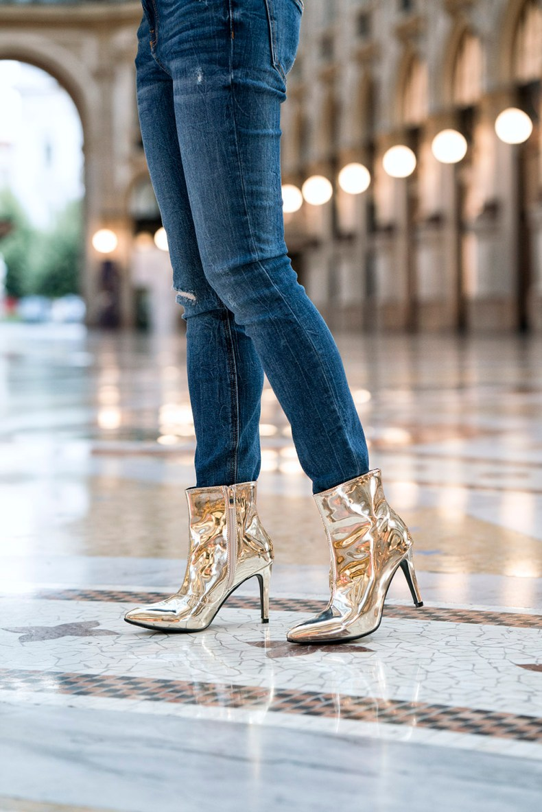 How To Wear Metallic Boots To Every Occasion Of Leather