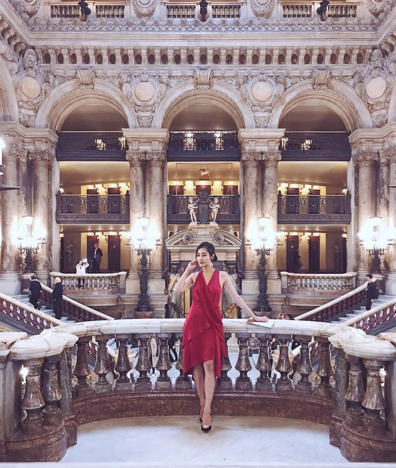 Palais Garnier - The One Place You Shouldn't Miss In Paris, France   Of Leather and Lace - Fashion & Travel Blog by Tina Lee