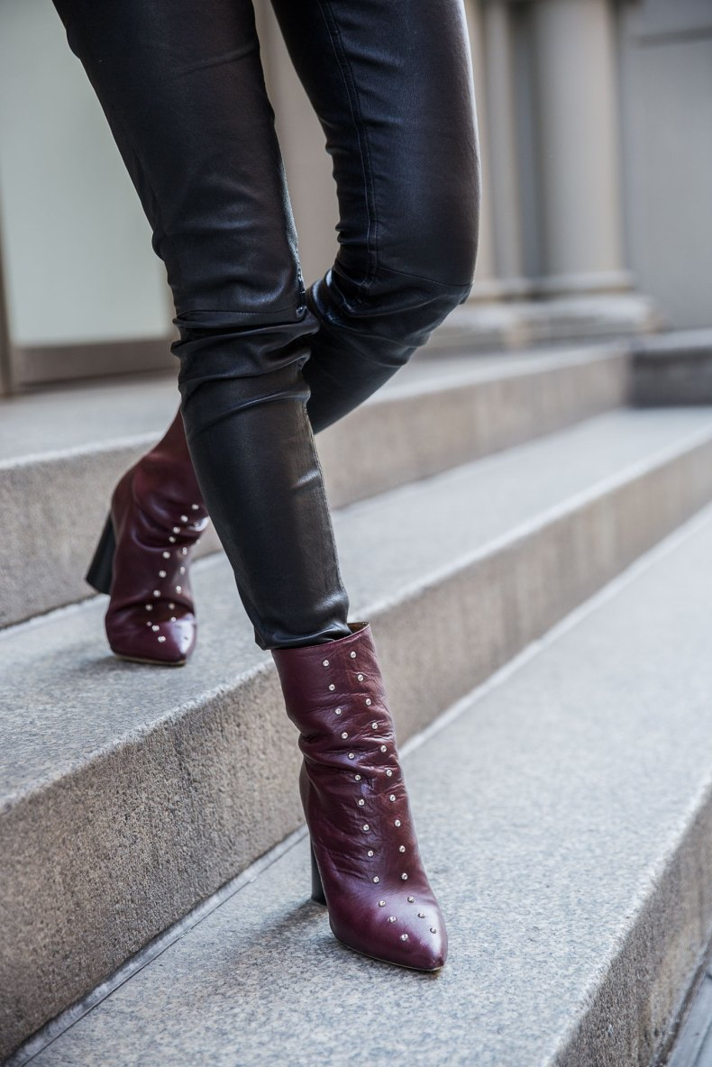 Burgundy Outfit Trends that Always Work | NYC | Ofleatherandlace.com