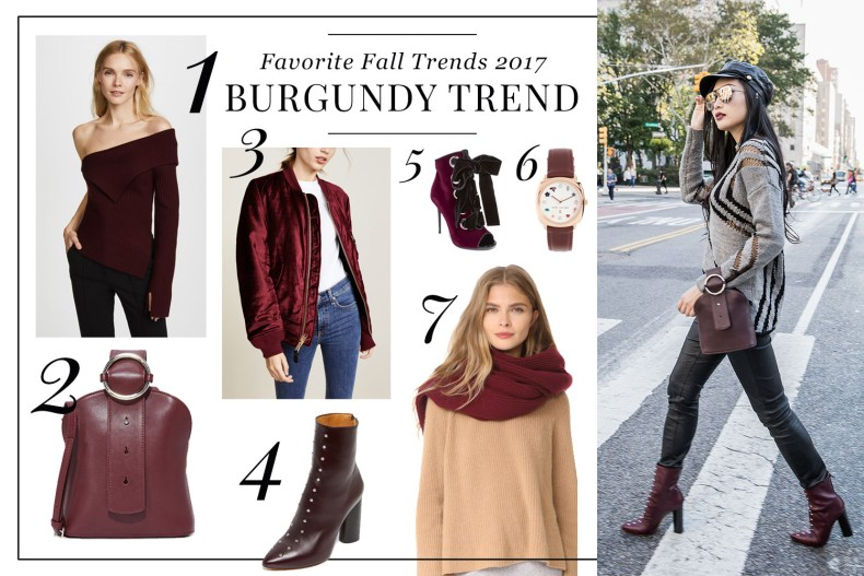 Pre-Black Friday Fashion Sales of 2017 | Of Leather and Lace - A Fashion Blog by Tina Lee | Black and Burgundy Outfit