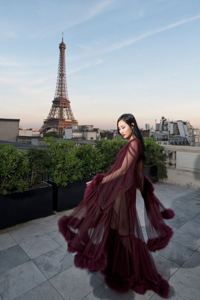 Catherine D'Lish - Luxurious Dressing Gowns Fit For A Burlesque Star | Of Leather and Lace | Fashion and Travel Blog by Tina Lee