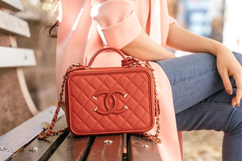 Red Chanel Bag | in NYC | Ofleatherandlace.com