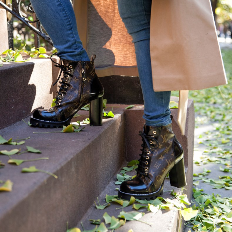 Louis Vuitton Logo Boots | in NYC | Ofleatherandlace.com