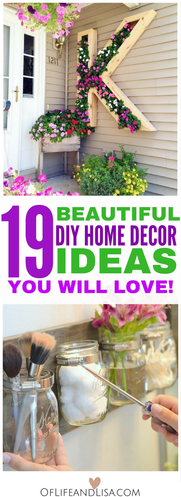 You will fall in love with these super crafty DIY Home decor Ideas. Click this post have a look!