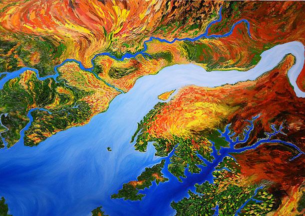 John-Sabraw-painting-acid-mine-drainage