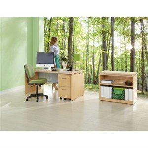 Alera Sedina Series Desk/Shelf Configuration