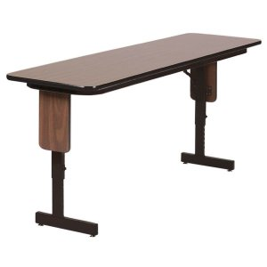 Alera High Pressure Laminate Top Seminar Tables (Walnut) 60″