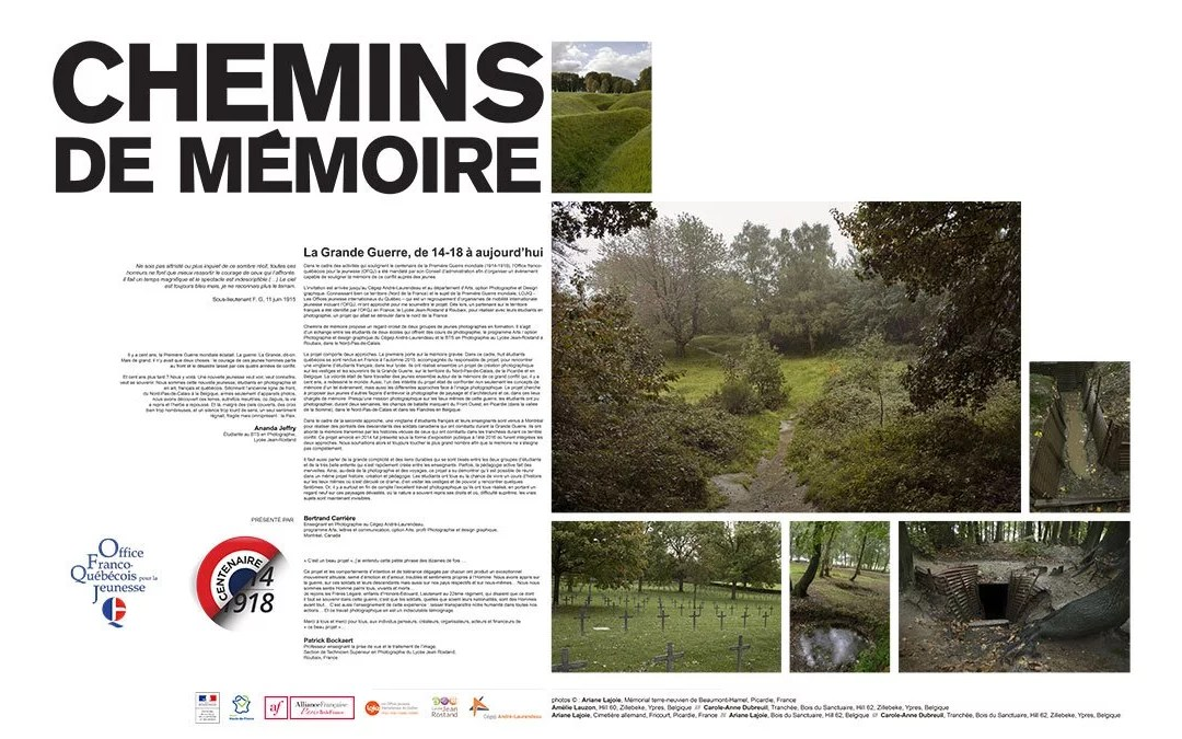 Exposition Chemin de mémoire