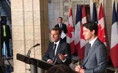 La jeunesse, une des priorités de la visite d'Emmanuel Macron au Québec