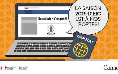 Ouverture des bassins d'Expérience Internationale Canada pour la saison 2019