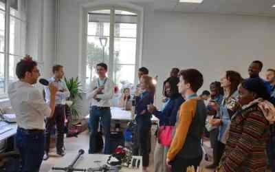 « L'innovation pédagogique dans un monde connecté » en ouverture des #RIS2019