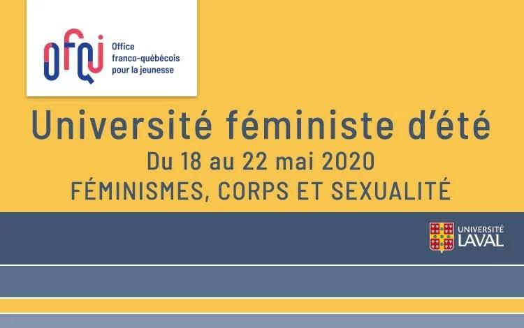 Université féministe de Laval 2020