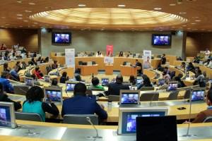 Dans l'hémicycle de la Région Grand Est, les 200 entrepreneurs clôturent la 3e GREF