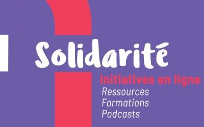 Solidarité Coronavirus : des initiatives en ligne à explorer