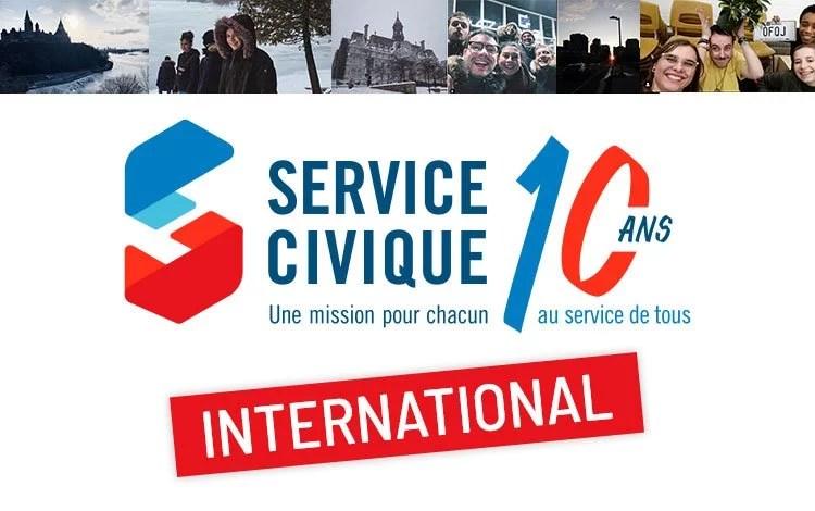 De nouvelles missions de service civique international pour le mois de février 2021
