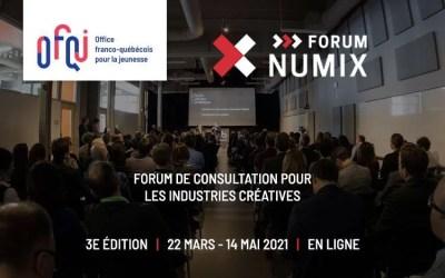 Forum de consultation NUMIX virtuel 2021