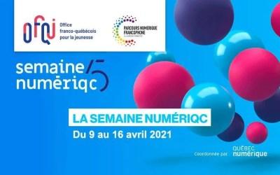 Semaine numérique de Québec virtuelle 2021