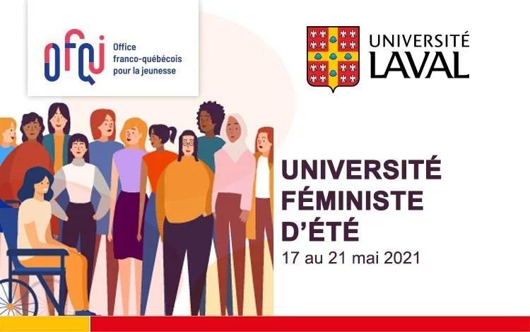 Université féministe d'été virtuelle 2021 de l'Université Laval