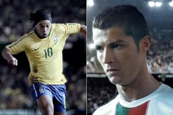 Brasil-X-Portugal-comercial-da-Nike-Ronaldinho-Gaúcho-e-Cristiano-Ronaldo-FuteRock