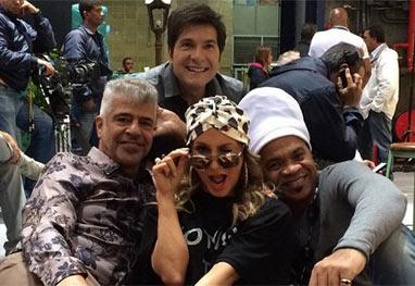 Daniel, Lulu Santos, Claudia Leitte e Carlinhos Brown! Jurados do The Voice se reúnem  - Reprodução/Instagram