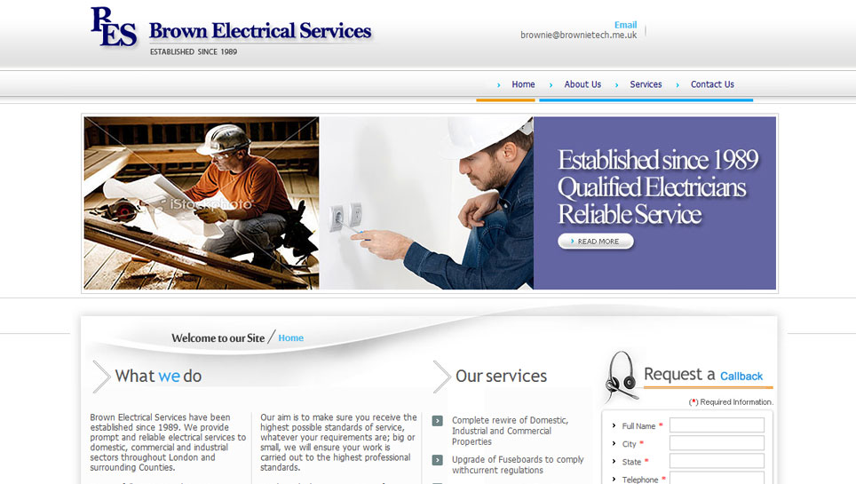 BROWN ELECTRICAL SERVICES - brownietech.co.uk