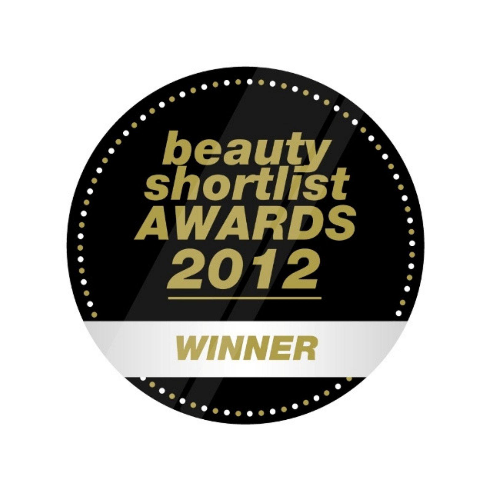 beauty shortlist award winner logo