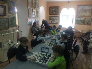 Шахматный турнир в музее