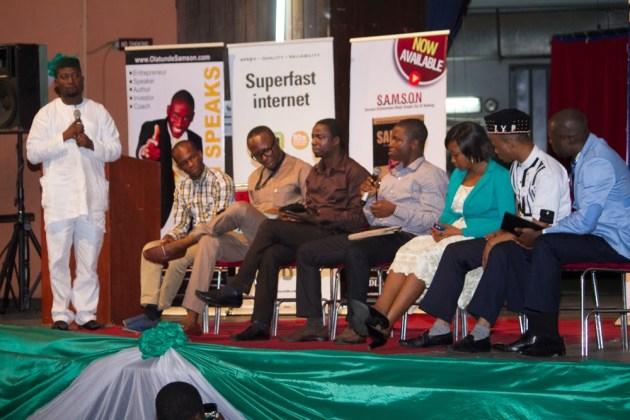 Jide Ogunsanya at 2014 Nigeria Digital Marketing Summit
