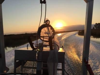 Sunrise on Sonoma Creek