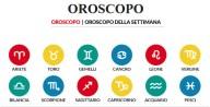 Oroscopo della settimana dal 25 al 31 ottobre 2021